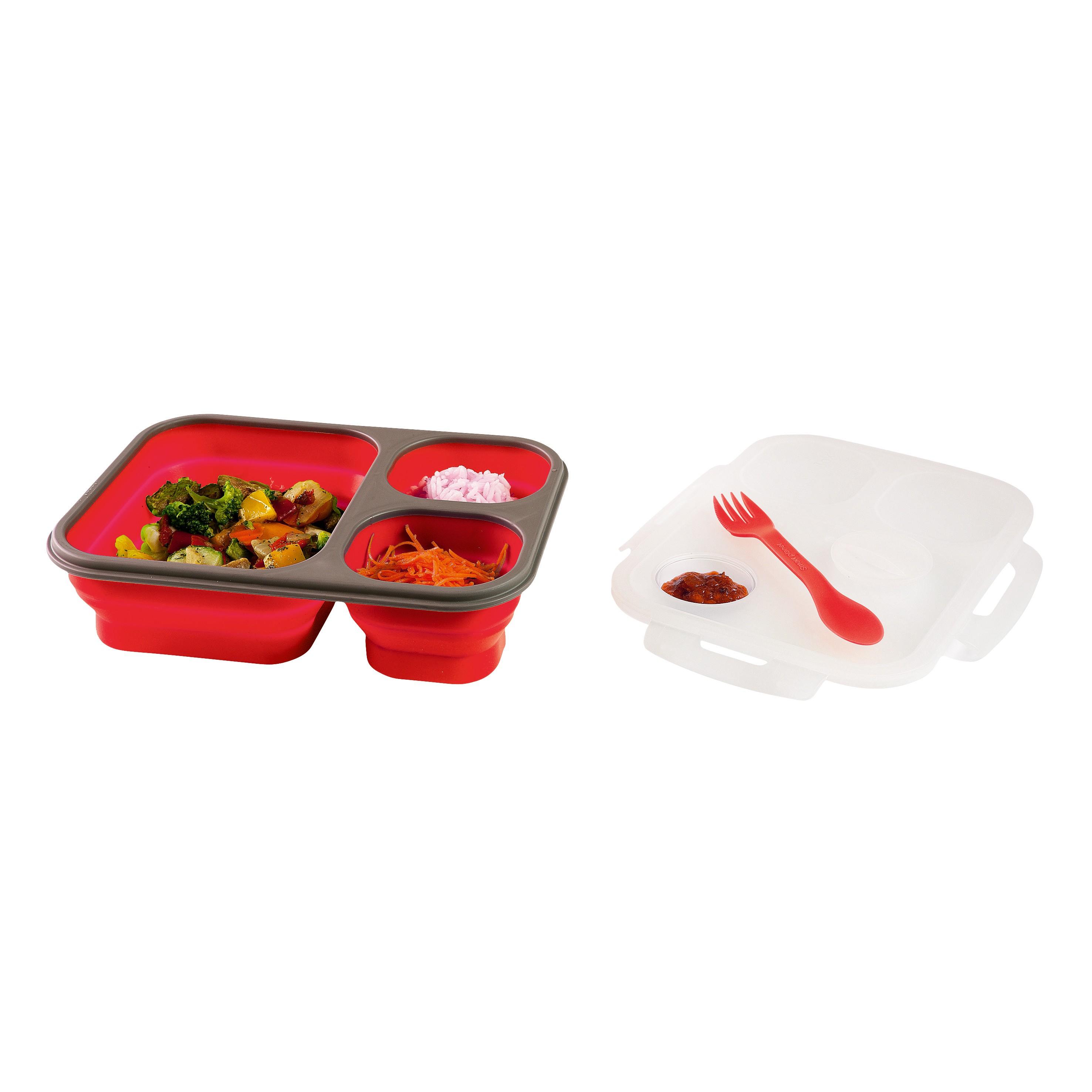 Kitchen clunch box 3 compartiments couverts artist for Art de la cuisine