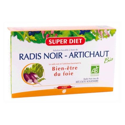 Super C Diet radis noir artichaut catgorie Digestion
