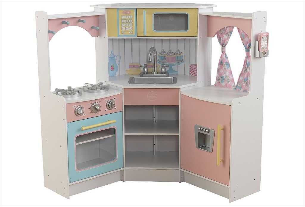 cuisine vintage blanche kidkraft 53208 pr l vement d 39 chantillons et une bonne. Black Bedroom Furniture Sets. Home Design Ideas