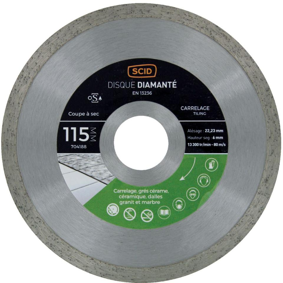 Catgorie disque diamant page 3 du guide et comparateur d 39 achat for Machine carrelage monocouche