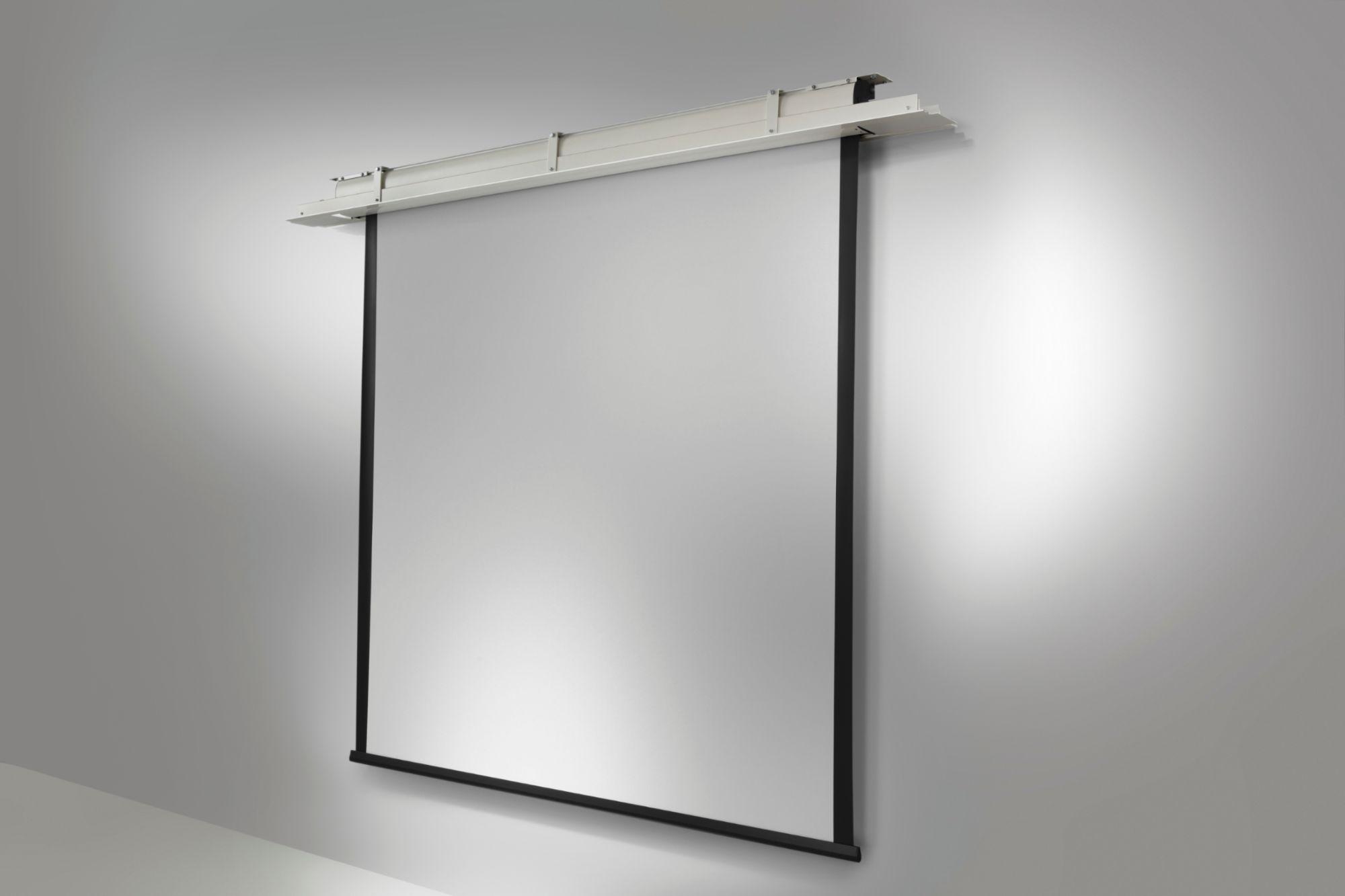 Celexon ecran de projection economy motoris 220 x 124 cm - Ecran de projection encastrable plafond ...