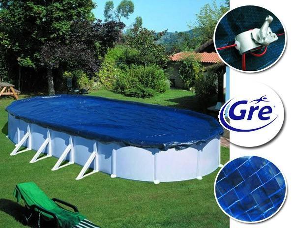 gre cbche hivernage pool de 8 20 x 4 60 m pour piscine de 7 30 x 3 75 m ovale ou 6 40 x 3 90 m. Black Bedroom Furniture Sets. Home Design Ideas