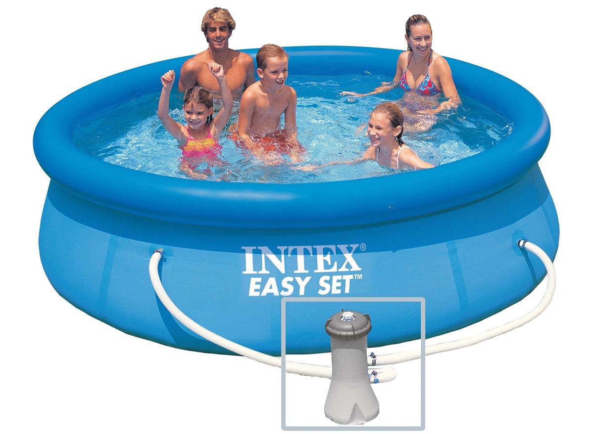 Intex liner pour piscine metal frame tubulaire ronde for Liner pour piscine tubulaire intex