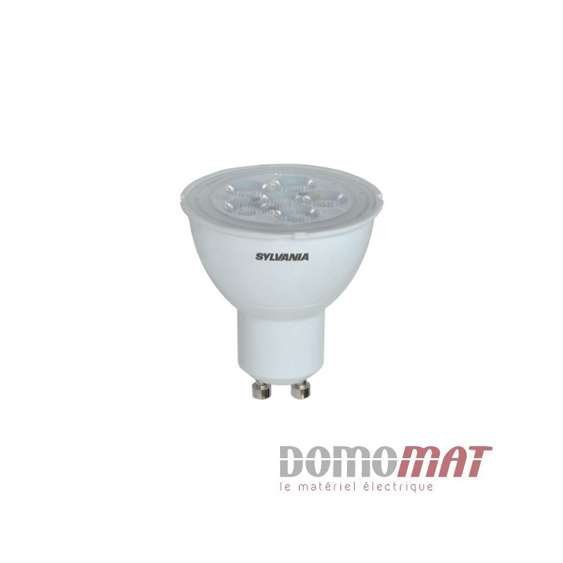 Sylvania ampoule led unicolore gu10 5 w 50 w blanc froid for Ampoule led jardin