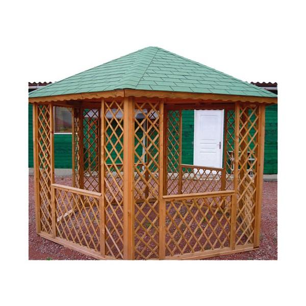 altona gloriette hexagonale trait e autoclave gl h38 surface. Black Bedroom Furniture Sets. Home Design Ideas