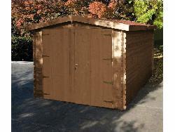 Chalet de jardin epervier 702523 en bois trait autoclave for Chalet autoclave