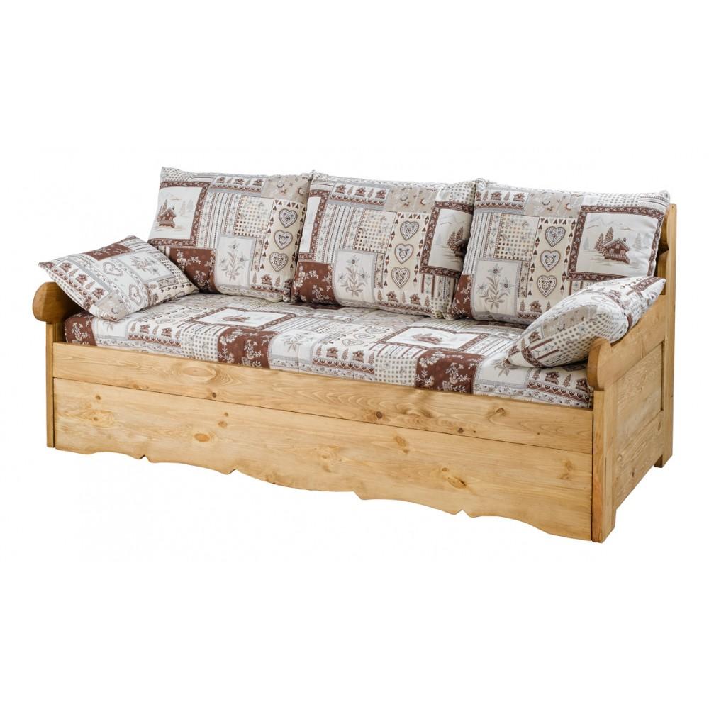 canape rustique. Black Bedroom Furniture Sets. Home Design Ideas