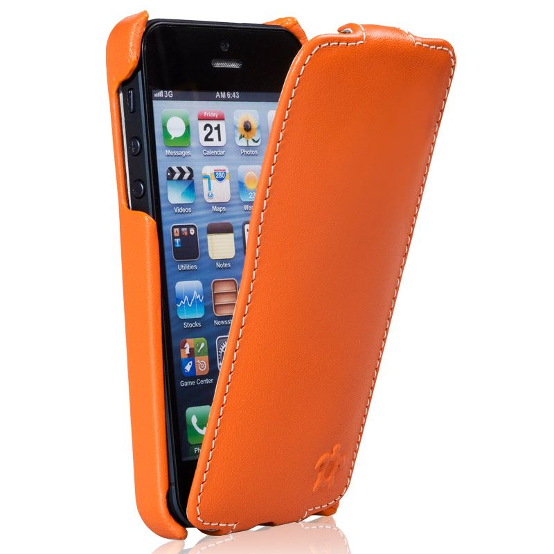 Issentiel housse cuir iphone 3g 3gs horizontale for Housse iphone 3g