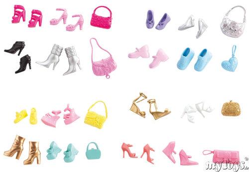 mattel m4232 poup e barbie chaussures accessoires. Black Bedroom Furniture Sets. Home Design Ideas