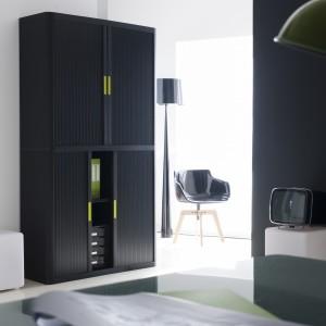 paperflow armoire portes rideaux h 204 x l 110 cm. Black Bedroom Furniture Sets. Home Design Ideas