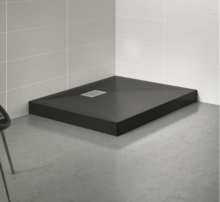 kinedo cabine de douche eden carr porte pivotante 80x80. Black Bedroom Furniture Sets. Home Design Ideas