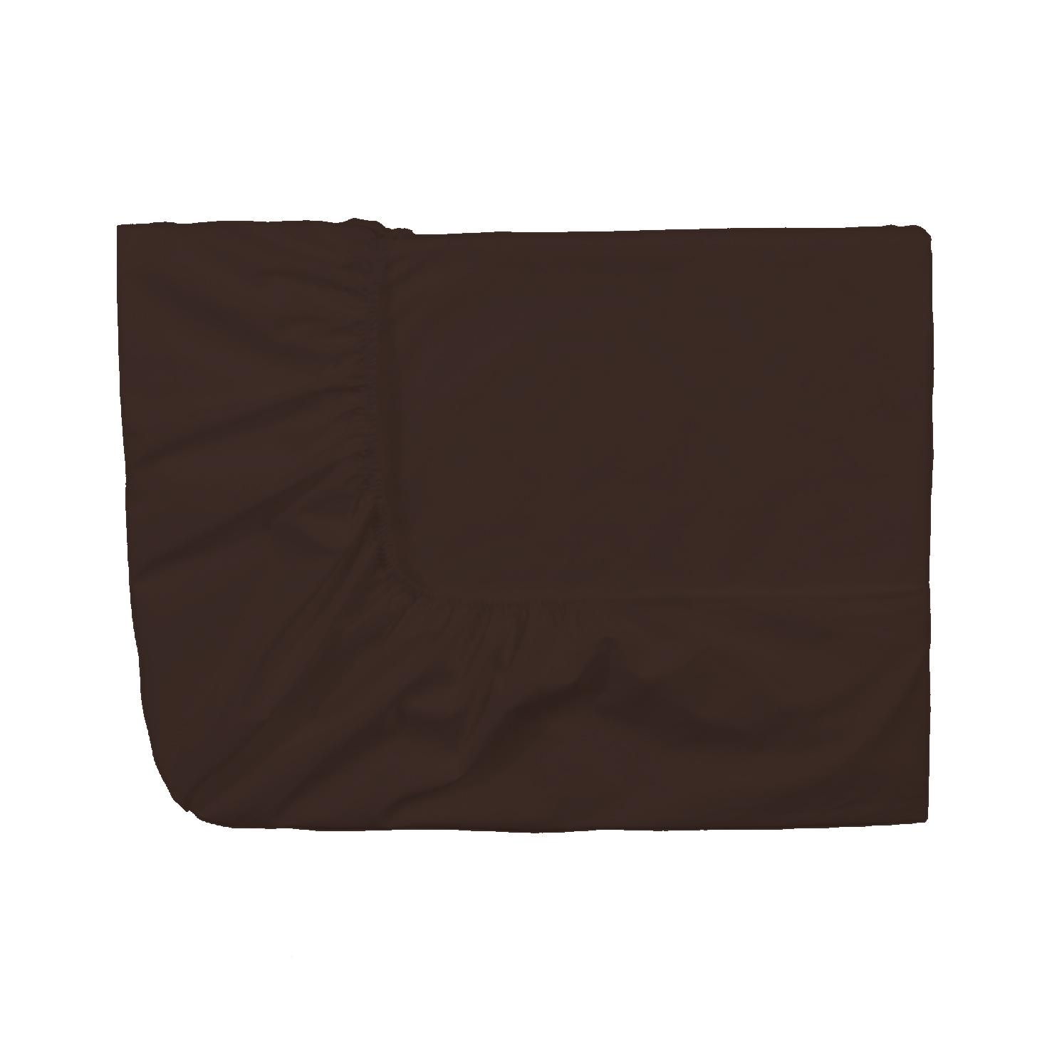 Essix c percale coton drap housse tabac for Draps housse percale
