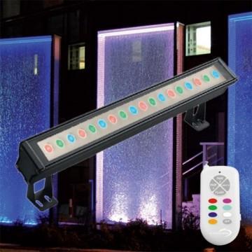 projecteur led fa ade ext rieur 54w rgb. Black Bedroom Furniture Sets. Home Design Ideas