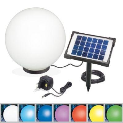 Esotec c boule solaire mega 50 cm - Eclairage exterieur solaire boule ...