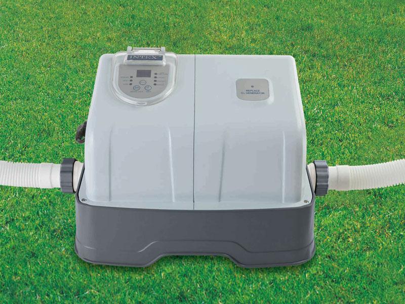 Intex cst rilisateur au sel ozone for Balai piscine intex