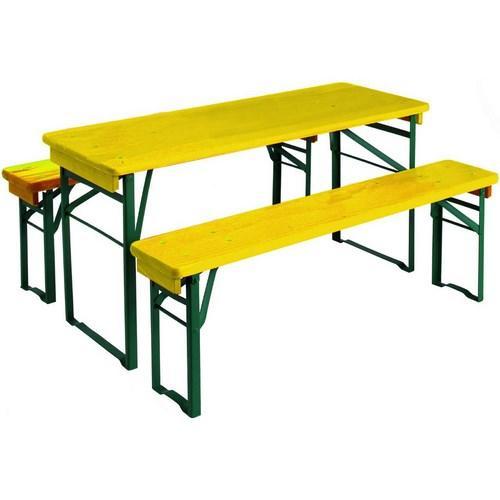 Table pique nique bois enfant - Table de jardin pique nique bois ...