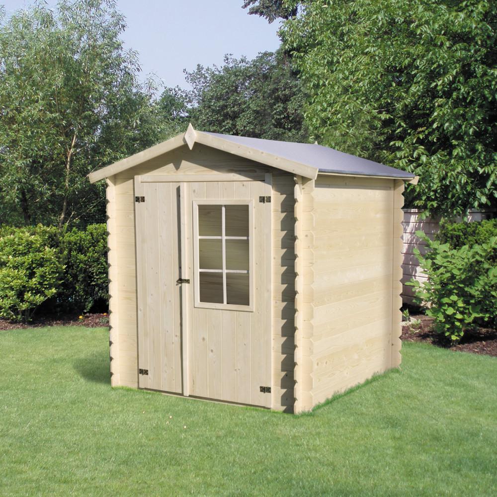 Chalet kit d ancrage fixation pour sol bton pour abri m - Fixation abri de jardin ...