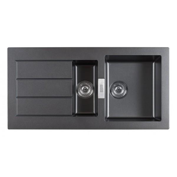 franke evier eviers dangle fragranit sid651 chocolat. Black Bedroom Furniture Sets. Home Design Ideas
