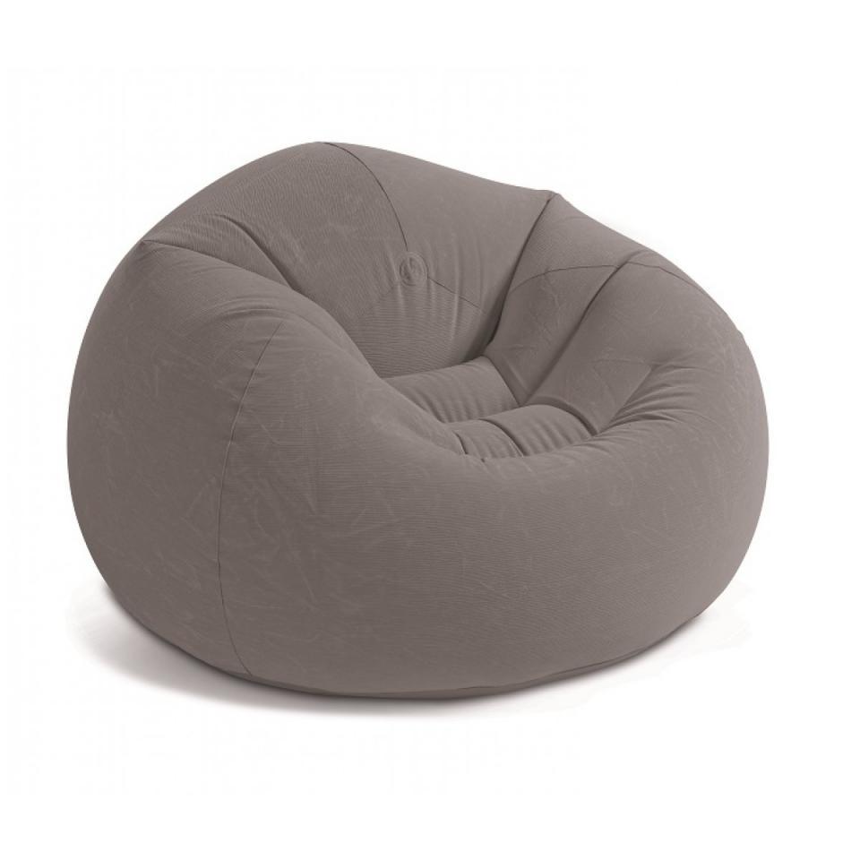 intex pouf gonflable texture velours catgorie accessoire pour spa et jacuzzi. Black Bedroom Furniture Sets. Home Design Ideas