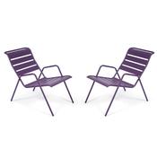 fermob fauteuil bas monceau. Black Bedroom Furniture Sets. Home Design Ideas