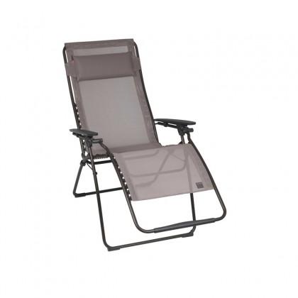 lafuma fauteuil futura xl air confort new acier noir. Black Bedroom Furniture Sets. Home Design Ideas