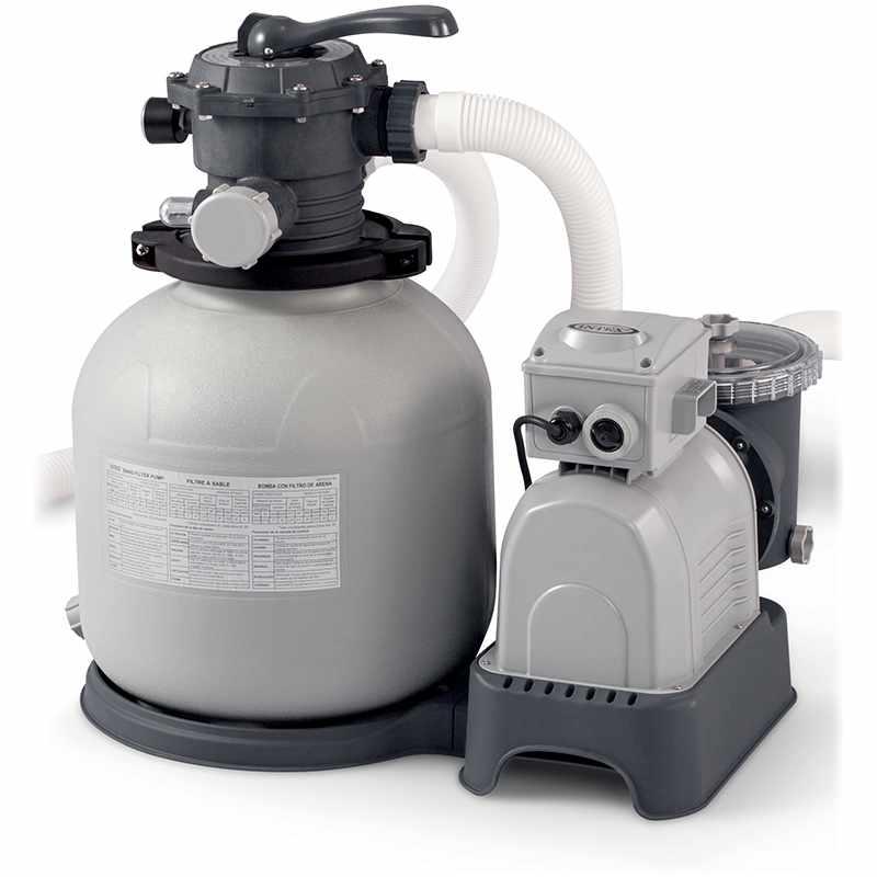 Intex platine de filtration sable modle 4 m3 h piscine jusqu 24 m3 catgorie entretien de piscine - Prix sable m3 ...