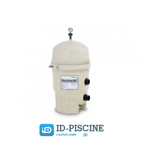 Pentair cfiltre cartouche clean clear 32 m3 h - Verre filtration piscine ...