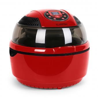 Klarstein c vitair fryer friteuse air chaud 1400w rouge - Friteuse a air chaud ...