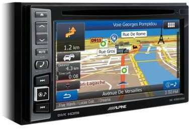 AUTORADIO VIDEO GPS ALPINE
