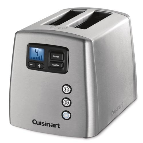 Grille pain cuisinart toaster cpt160e 2 fentes extra larges 900 w - Grille pain cuisinart cpt160e ...