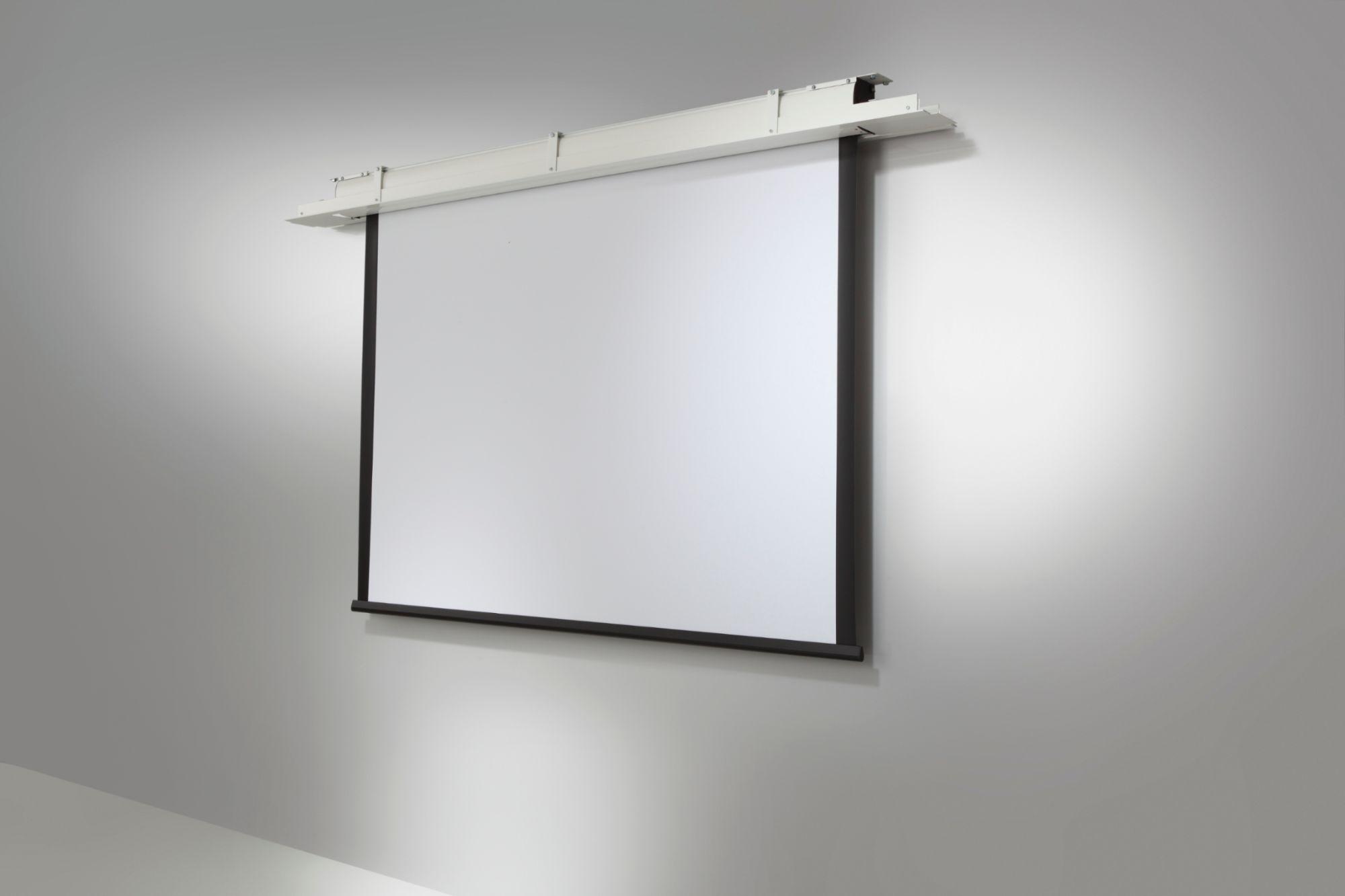 Celexon cecran de projection manuel pro 280 x 210 cm - Ecran de projection encastrable plafond ...