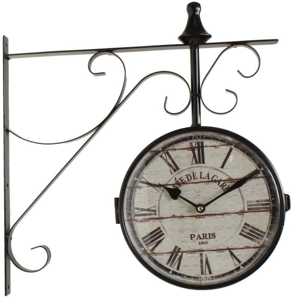 Cat gorie horloges pendule et comtoise du guide et comparateur d 39 achat - Pendule de gare double face ...