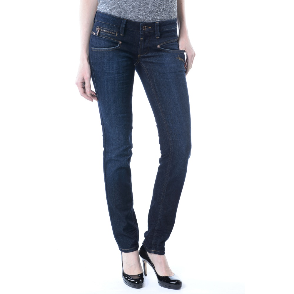 freeman jeans t porter alexa slim bleu. Black Bedroom Furniture Sets. Home Design Ideas