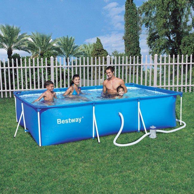 Bestway aire de jeux gonflable modle intractif catgorie for Accessoire piscine tubulaire bestway