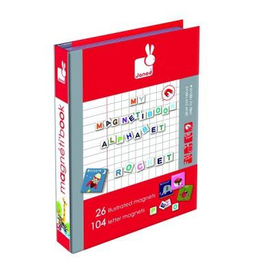 Janod magnetibook alphabet anglais j05538 jeu du for Cuisine janod macaron