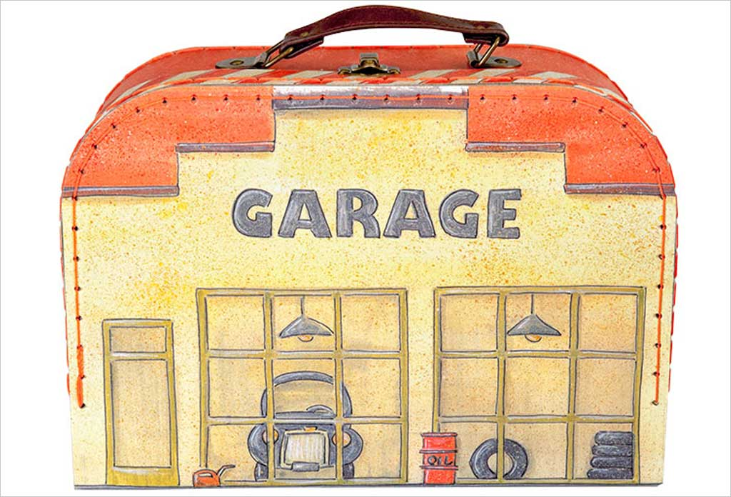 Egmont jouet garage valisette for Comparateur garage voiture