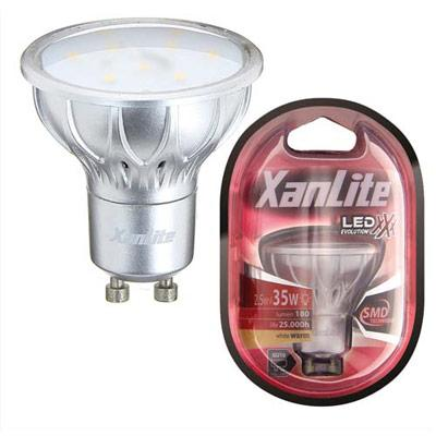 xanlite c spot led gu10 3 8w 280 lumens catgorie ampoule lectrique. Black Bedroom Furniture Sets. Home Design Ideas