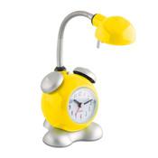 brilliant lampe happy avec r veil jaune. Black Bedroom Furniture Sets. Home Design Ideas