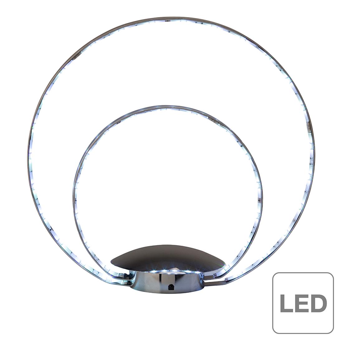 brilliant lampe de table led melina 11 w chrome. Black Bedroom Furniture Sets. Home Design Ideas