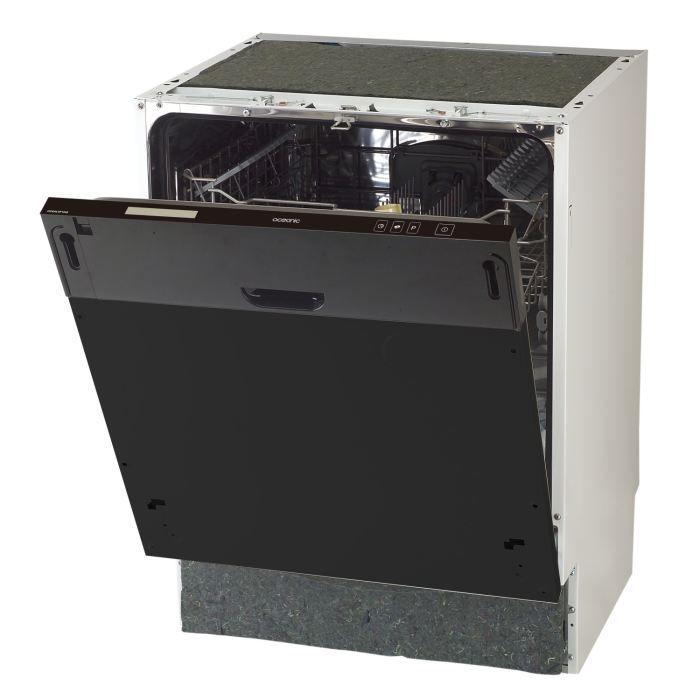oceanic lvf1245 lave vaisselle full int grable. Black Bedroom Furniture Sets. Home Design Ideas