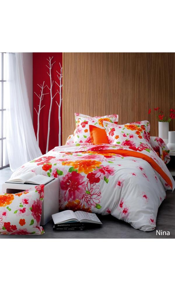 tradilinge taie d oreiller bloom 50 x 70 cm. Black Bedroom Furniture Sets. Home Design Ideas