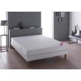 relaxima ensemble matelas mousse fraicheur 90x200. Black Bedroom Furniture Sets. Home Design Ideas
