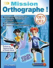 Mission Orthographe CE1 -