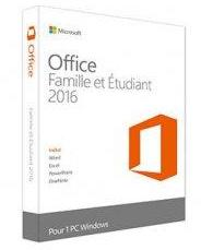 Microsoft Office 2016 Famille
