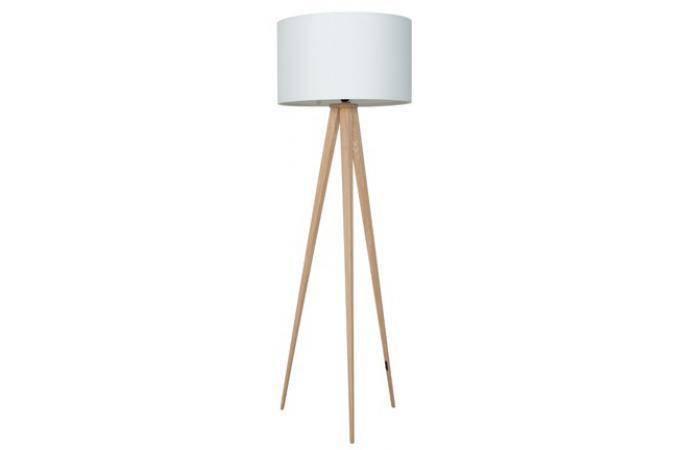Zuiver c tripod lampe sur pied catgorie lampe de salon - Lampadaire trepied bois ...