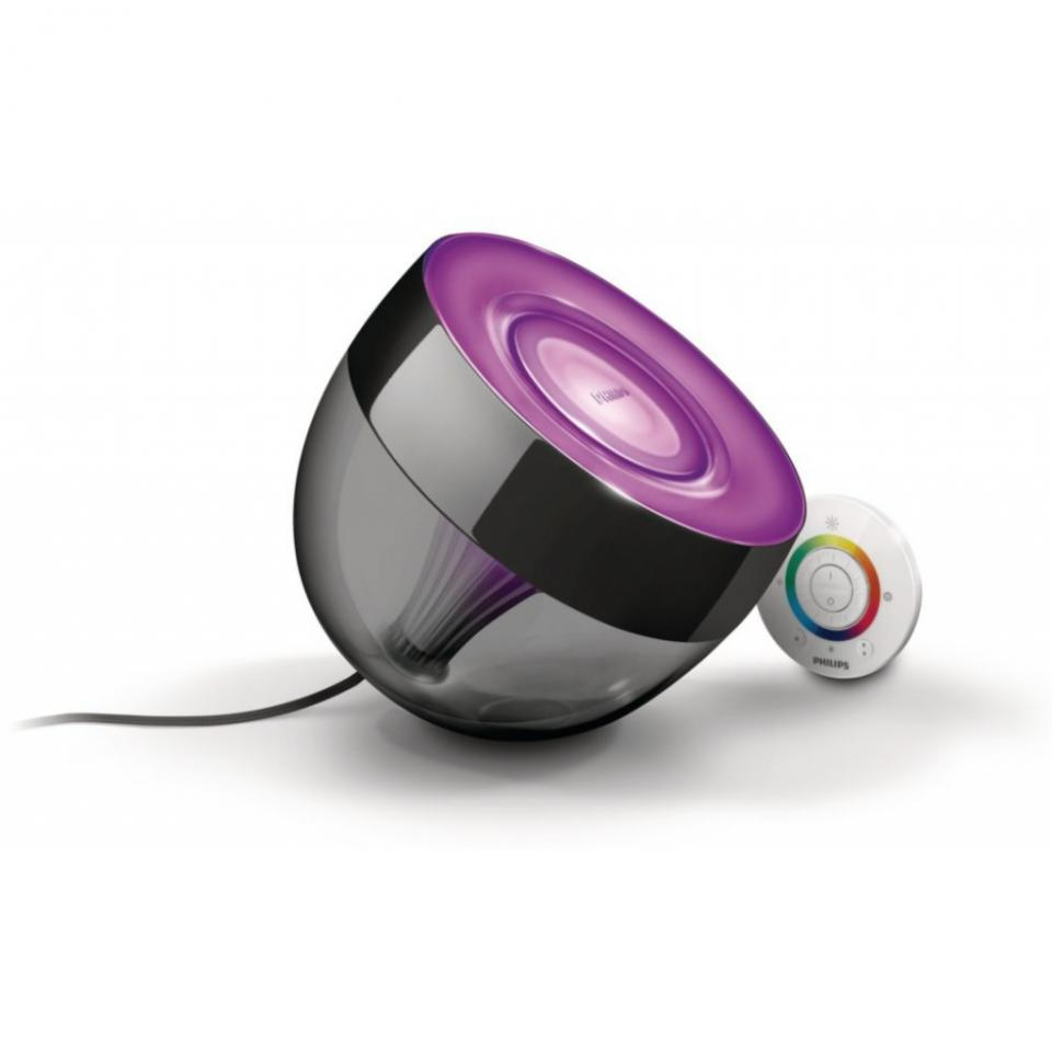 philips lampe poser led iris noir catgorie mixeur. Black Bedroom Furniture Sets. Home Design Ideas