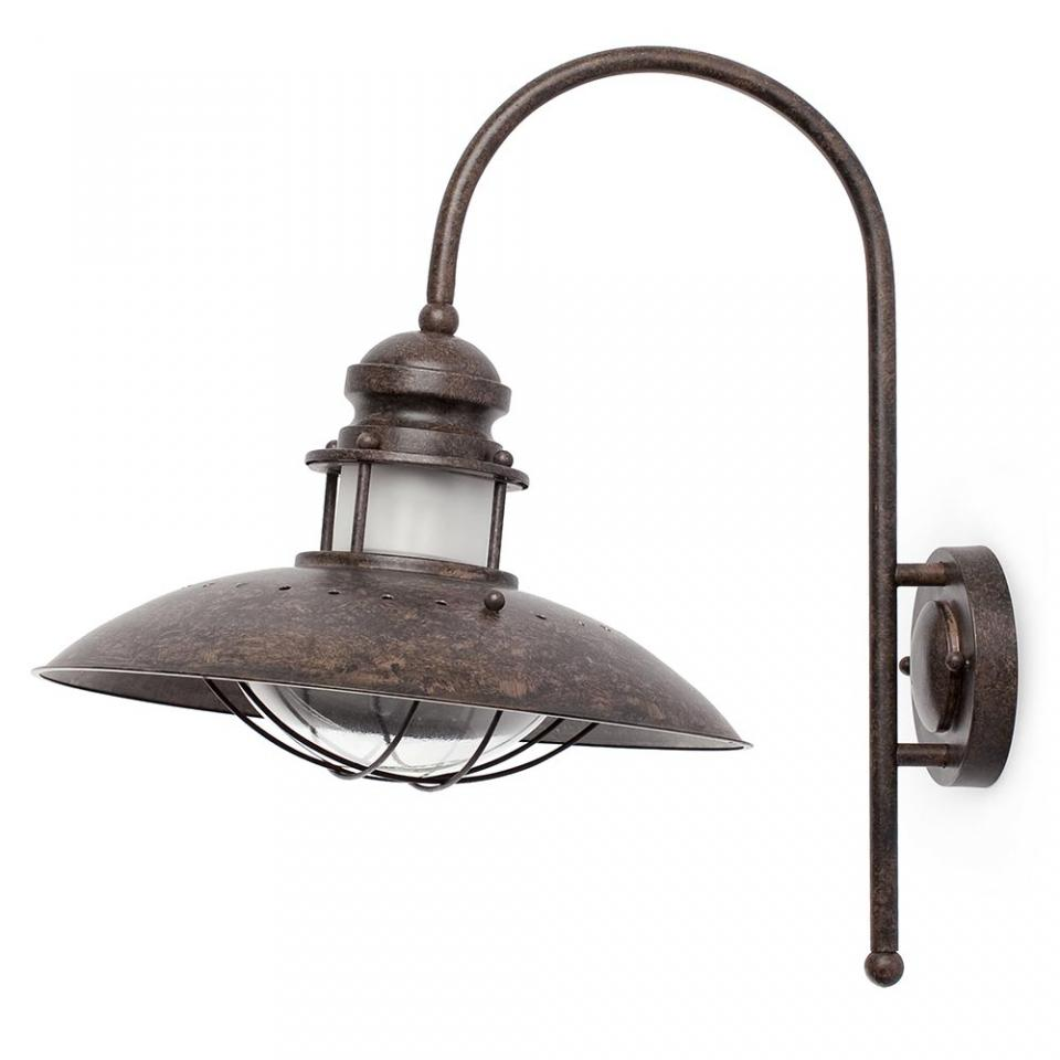 Faro c applique murale winch marron catgorie ventilateur - Hauteur applique murale ...