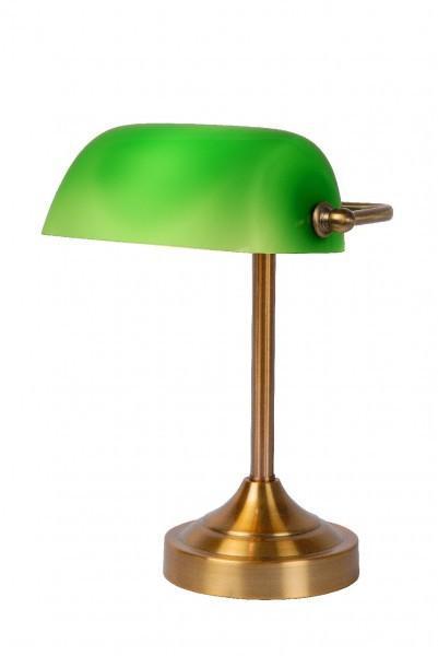 lucide lampe de banquier banker 1 lumire catgorie lampe de bureaux. Black Bedroom Furniture Sets. Home Design Ideas