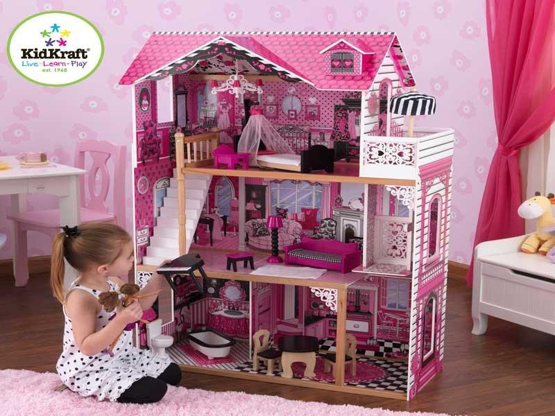 kidkraft maison de poupees amelia 65093 4 kidkraft kk. Black Bedroom Furniture Sets. Home Design Ideas