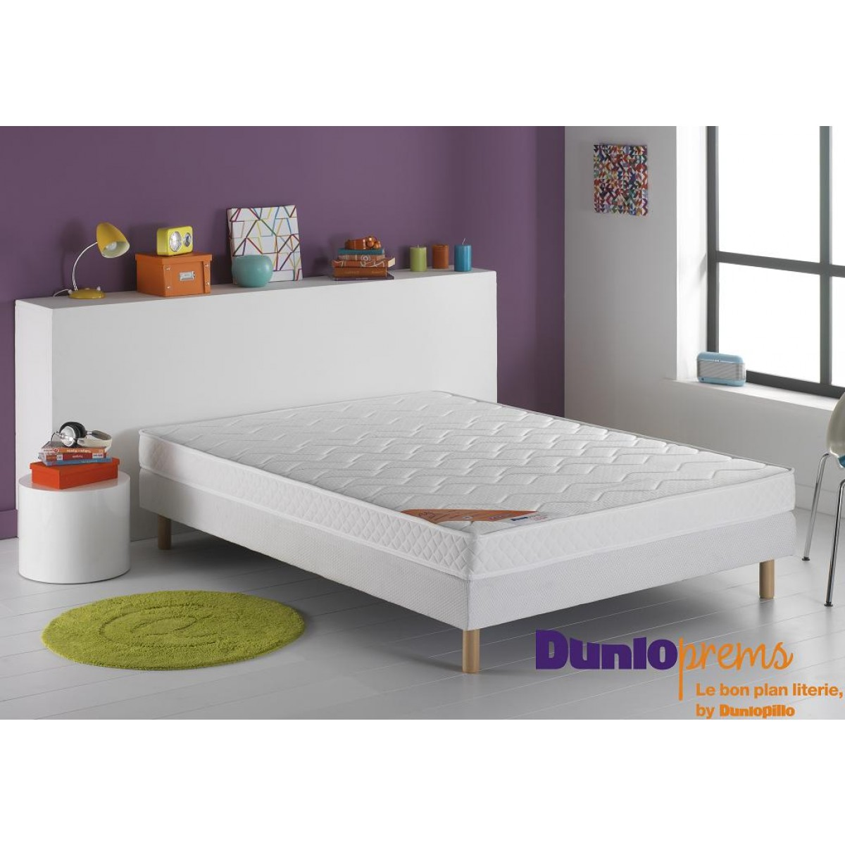 dunlopillo cmatelas dunloprems up 160x200. Black Bedroom Furniture Sets. Home Design Ideas